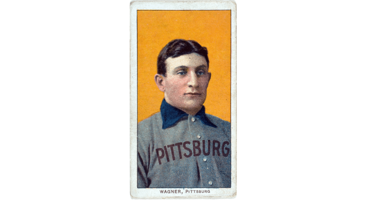 This legendary baseball card is a piece of American history